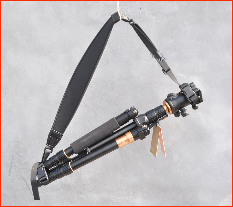 Adjustable Tripod Monopod Shoulder Strap Light Stand Suspender Carrying Belt for Tripod Photo Studio kits