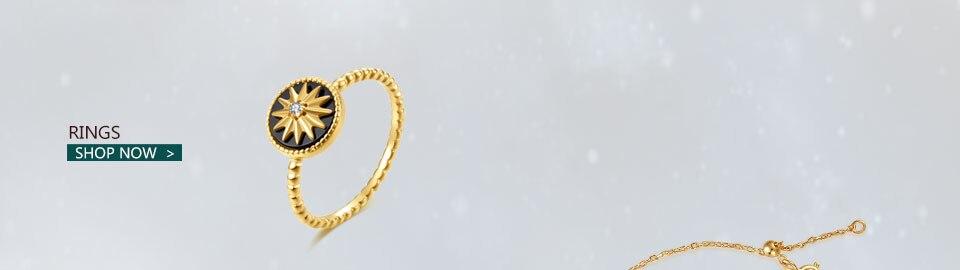 HTB1njVJUNTpK1RjSZFKq6y2wXXa3 18K Gold Plated 925 Sterling Silver Star Stud Earrings for Women Black Agate  Gemstones Silver 925 Korean Studs Earings 2019