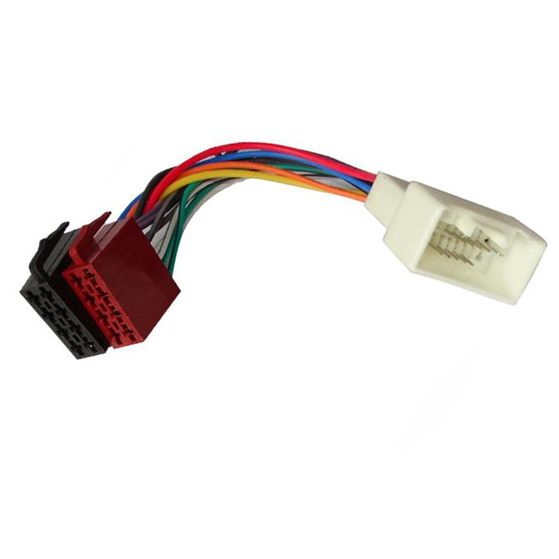 Car Stereo Male Iso Radio Plug Power Adapter Wiring Harness Special