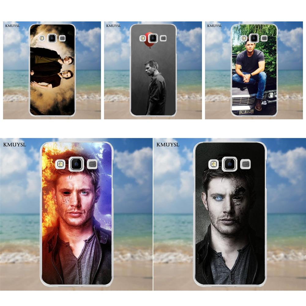 Kmuysl TPU Art Print Cover Case Supernatural Dream Wichester For Samsung Galaxy A3 A5 A7 J1 J2 J3 J5 J7 2015 2016 2017 image