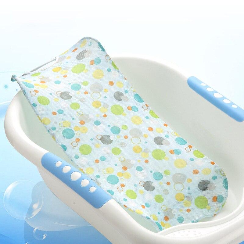 High Quality Baby Adjustable Bath Seat bath accessories toys Bathing Bathtub Baby Bath Net Safety Security