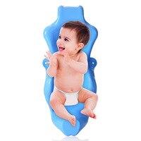 Newborn Baby Bathing Chair Baby Bath Tub Bathing Rack Bathtub Net Bracket Newborn Infant Portable Baby Bath Tub Seat 0 18 Months
