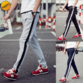HOT 2016 Spring autumn Slim Fit Joggers Track Pants Men Students Elastic Waist Harem Pants Traning Trousers Plus Size 5XL