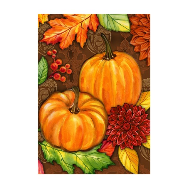 welcome fall decorative outdoor and indoor flags 100 polyester