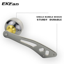 EKFan Aluminum Alloy 2000 Series Knobs Fishing Reel Handle For ABU DAIWA  Baitcasting Fishing Reel Tackle Tools Left Right Hand