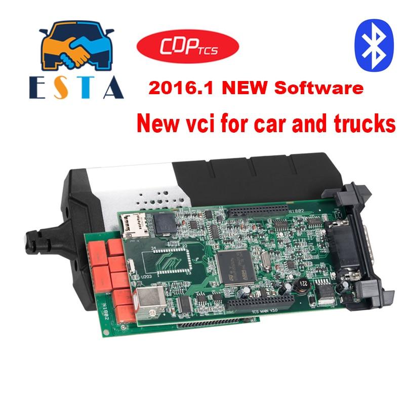 CDP TCS pro plus 2016 1 keygen software obd ii NEC relay TCS cdp obd2 auto