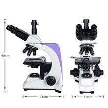 1000x 2500X Professional Biological Lab HD Microscope Trinocular Binocular digital camera lcd eyepiece electronic USB HDMI VGA