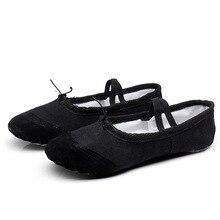 Professional ballet flats Soft Balleria Dance Shoes For Women Split Cow Leather Outsoles Latin Yoga sport Girls Toe
