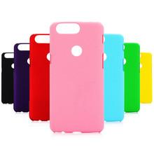 Phone Case sFor Fundas OnePlus 5T case For Coque 5 T Candy Color Hard plastic PC cover phone cases