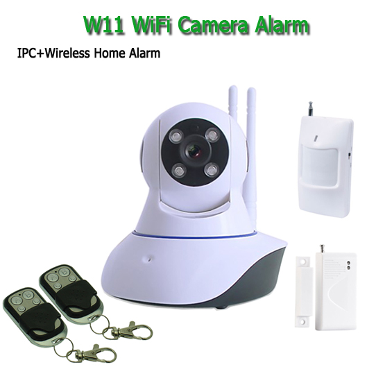 Wireless IP Wifi Camera Alarm System Mini CCTV Camera PIR ...