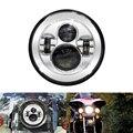 7 inch Headlights for Harley Daymaker Davidson Round H4 Hi/Low Beam LED Headlamps