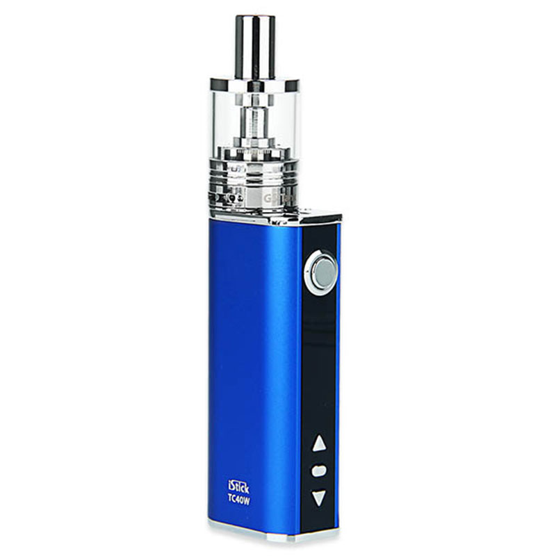 100% Original 40W Eleaf iStick TC Kit E Cigarettes with 2600mAh Battery Mod & 3ml GS-Tank Atomizer VS 40W Eleaf iStick TC MOD