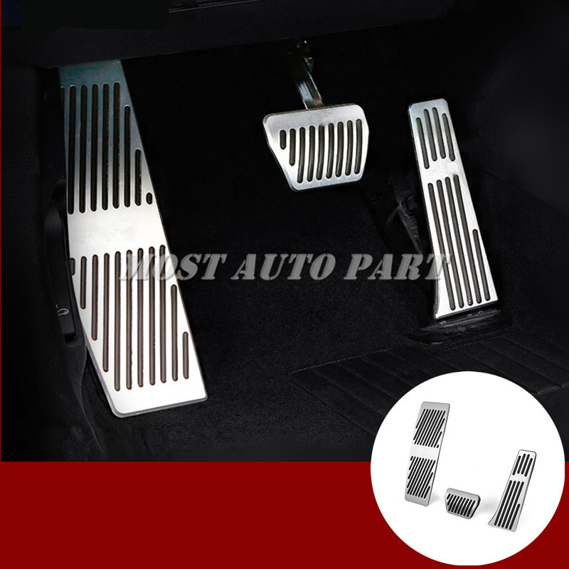 Brake Accelerator Pedal Footrest Pad Cover For BMW 3 4 Series F30 F31 F32 F34