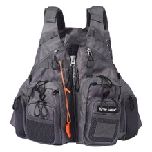 Fishing Vests Safety Waistcoat Survival Utility Vest  Outdoor Sport Fishing Life Vest  Breathable Swimming Life Jacket