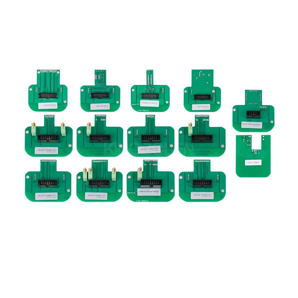 Engine Analyzer Bright Free Shipping Via Dhl!!!factory Bdm Frame With Probe Adapters For Ktag Kess Ktm Bdm Dimsport Full Set 22pcs Adapter Aluminum