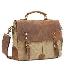 Genuine Leather Handbag Men Business Bag for male Messenger Shoulder bag Mens Travel Briefcase Satchel cartable sac bolso hombre