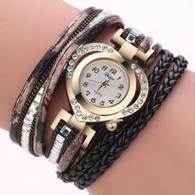 Бренд Повседневные часы Для женщин Мода контракт сплава многослойной роскошные часы-браслет Для женщин часы Relogio feminino Relogios