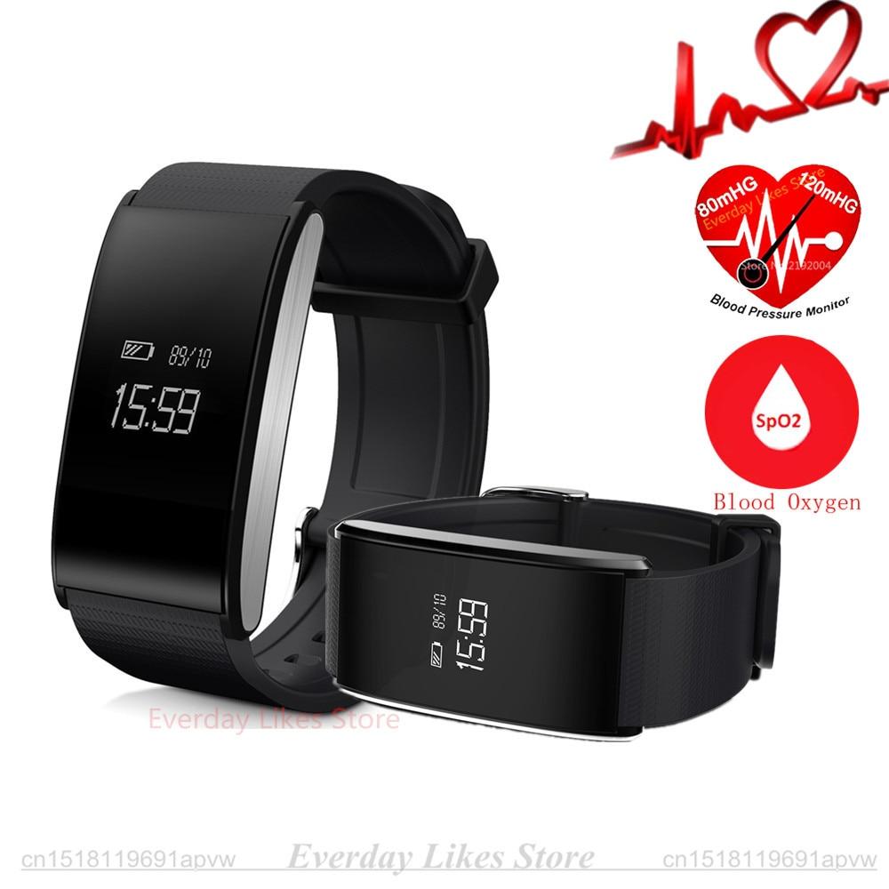 Original A58 Smart Band Bracelet Blood Pressure Watch Heart Rate Blood Oxygen Monitor Sport Wristband Waterproof