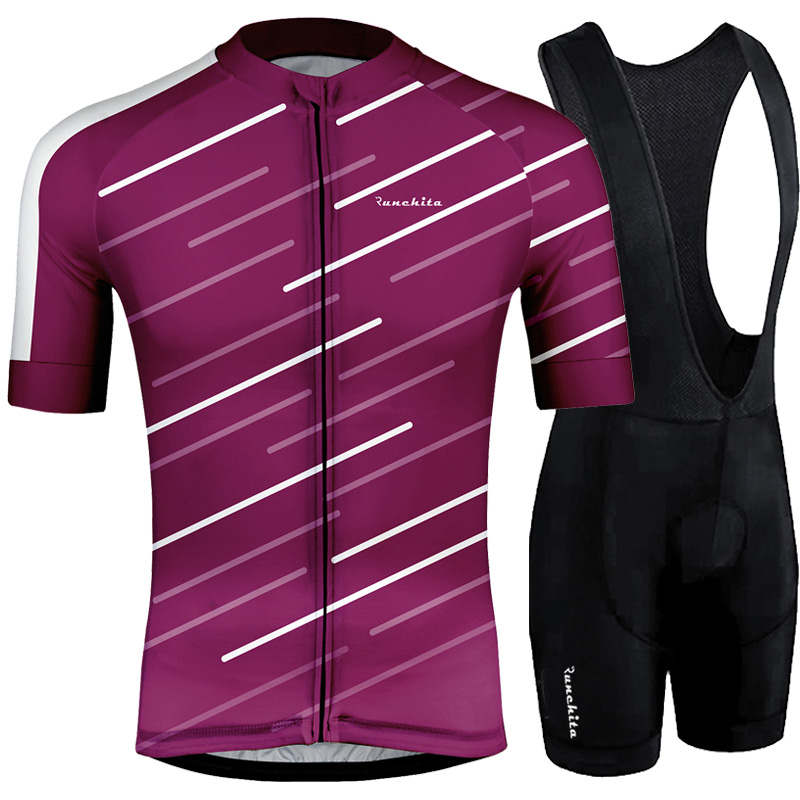 Jersey Sets Short Sleeve Breathable Cycling Clothing Bicycle Sportswear Hombre