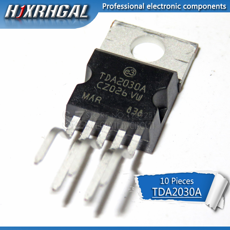 10pcs TDA2030A <font><b>TDA2030</b></font> audio <font><b>amplifier</b></font> short-circu High quality image