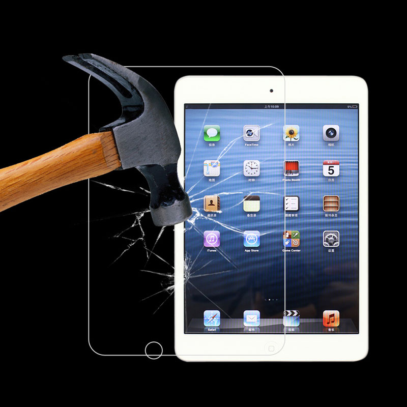 HD Protector Explosion-proof Tempered Glass Screen Film Guard For Apple ipad mini 1/2/3 Tablet PC Protective Guard Film