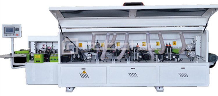 Factory Price Sliding Table Panel Saw Plus Full Automatic Edge Banding  Machine in Wood Industry