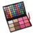 Pro 72 Full Color Eyeshadow Palette Maquiagem fácil de Usar Professional Shimmer Eyeshadow Blush maquiagem Kit Conjunto de Cosméticos