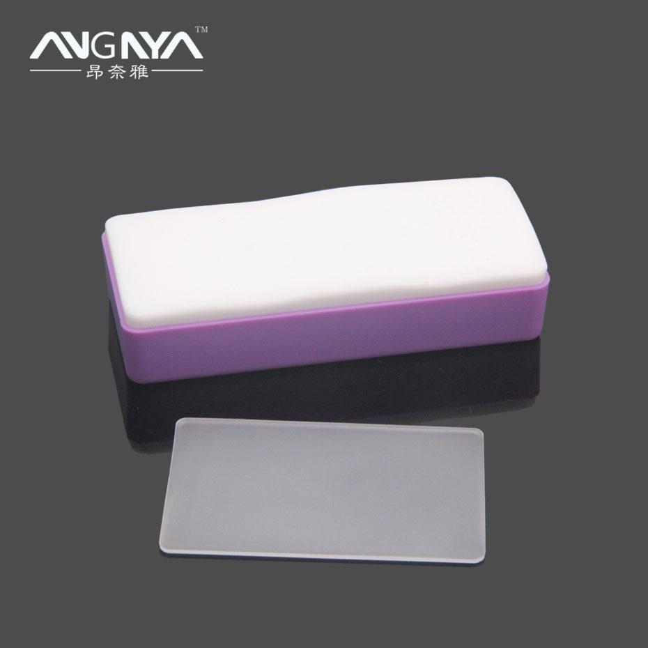 ANGNYA 1 Nail art Stempel Stamper + Nagel Schaber Messer set ...