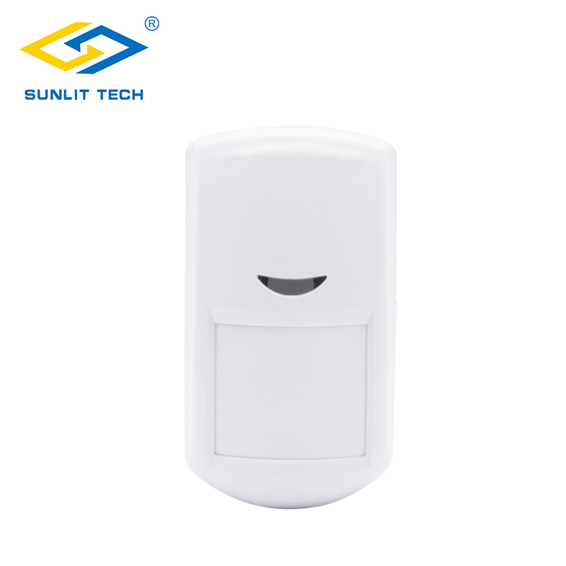 433MHz Wireless PIR Sensor Wide Angle 110 Degree Indoor PIR Motion Detector for GSM/PSTN Security Alarm System Accessory Home цена