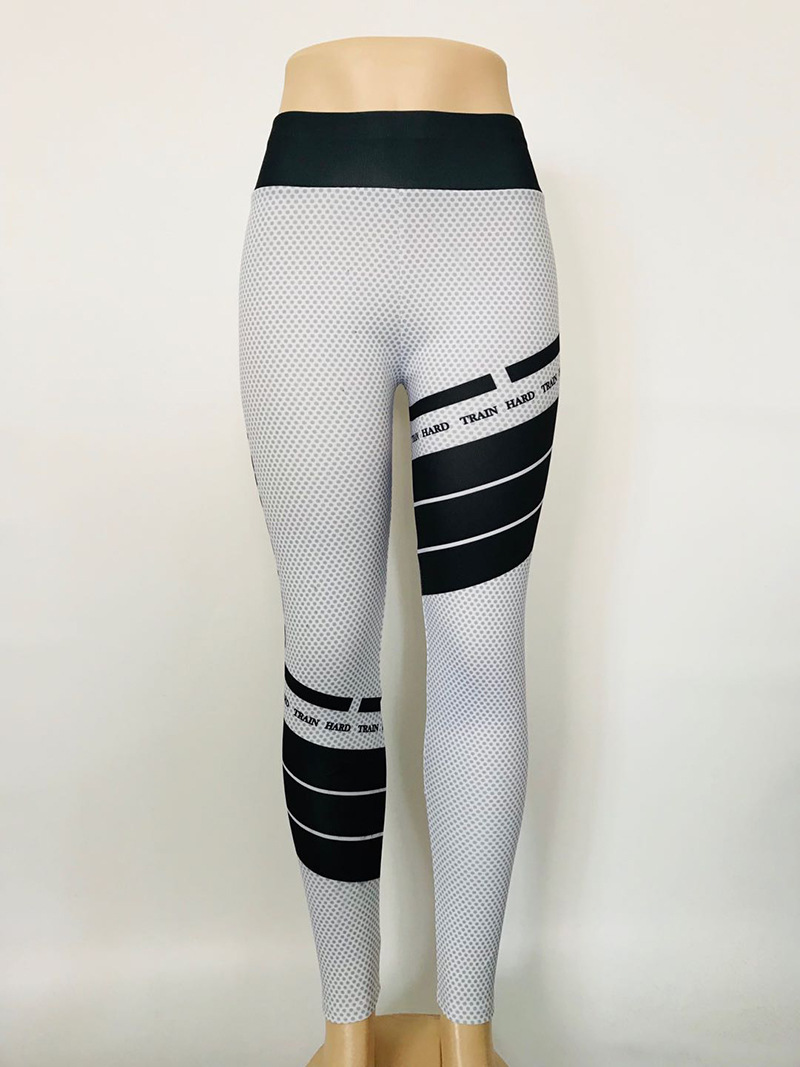 New style of sexy letters fitness printed sports Pants