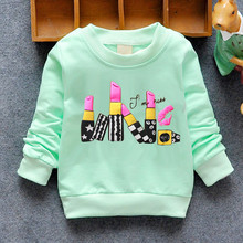 Fashion New Arrival Baby Girls T-shirt Spring Autumn Winter 6 Cats lovely long sleeve  Character baby kids clothes