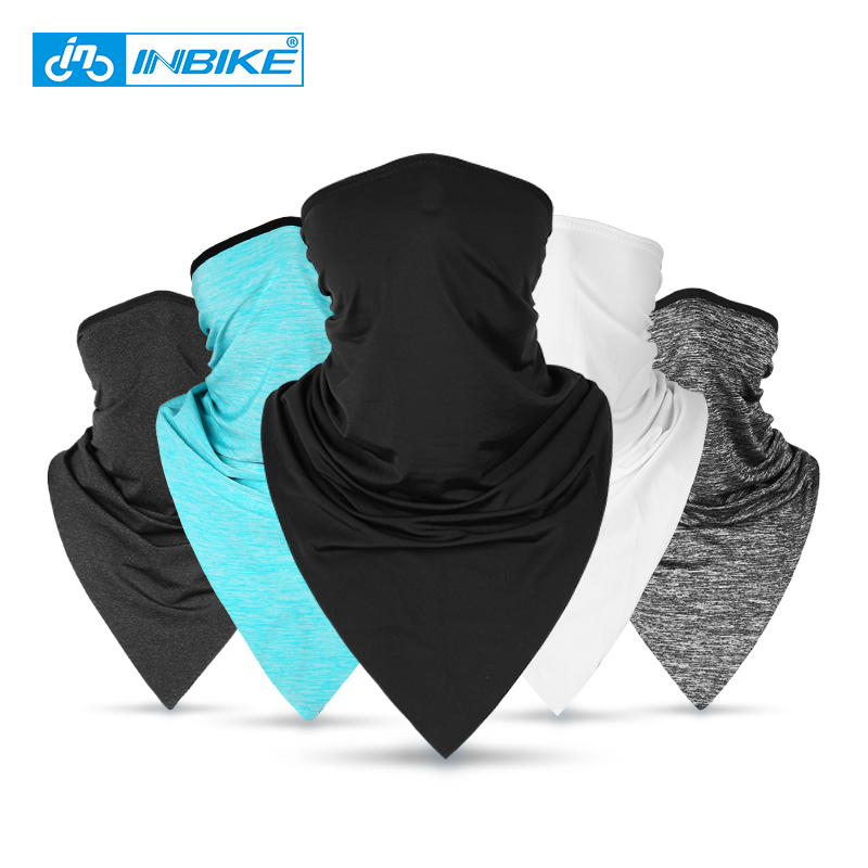 INBIKE Summer Outdoor Sports Headwear Cycling Bandana Bicycle Equipment Scarf Ride Neck Mask Bike Triangle Headband Scarf