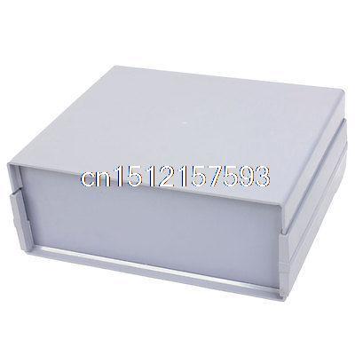 ФОТО Gray Plastic Sealed Electric Junction Box Case 272mm x 228mm x 105mm