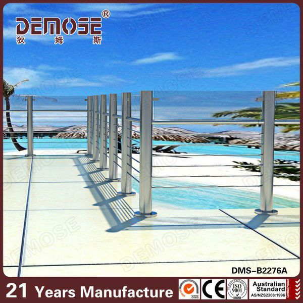 DMS B2276A Prices Of Stainless Steel Balcony Railing Steel