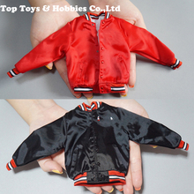 F-083 1/6 scale Trendy jacket red/ black F 12 Inches male Body Male Action Figures acc fm трансмиттер avs f 472 black red a07156s