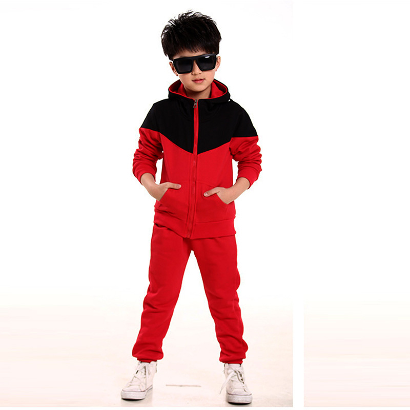Kids Clothes Boys 2017 Baby Boys Spring Hoodied Coats And Jackets Pants Set Korean Fashion Children Clothing Sports Suit For Boy boys fleece jackets solid coat kid clothes winter coats 2017 fashion children clothing