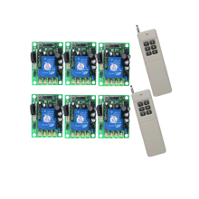 3000M long wireless remote AC85V- 250V 110V 220V RF Wireless Remote Control Switch System For Light цена