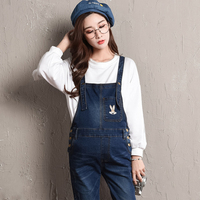 Maternity Denim Overalls Pregnant bibs Jumpsuit Blue Maternity suspenders 4XL Plus size Trousers for pregnancy women clothes