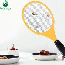 Многофункциональный Электрический светодиодный мухобойка от комаров, средство от комаров, противомоскитная ракетка, Отпугиватель насекомых, Садовые принадлежности
