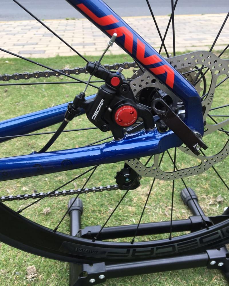 HTB1njanXVT7gK0jSZFpq6yTkpXaW 2019 JAVA Siluro3 Aluminum Alloy Road Bike Double Disc Brake 18 Speed Road Bicycle SORA R3000 Shift System bike Carbon Fork