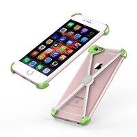 Para Coque iPhone 7 Plus Biquíni Projeto Aluminum Bumper Caso Móvel Capa Para o iphone 6 6 s Plus Luxury Caso de Telefone Armação de Metal cobrir