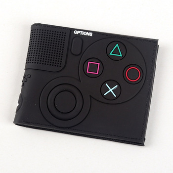Game Handle Playstation wallet  3D Touch and super cool Men Wallets PVC Purse  Bi-Fold 9
