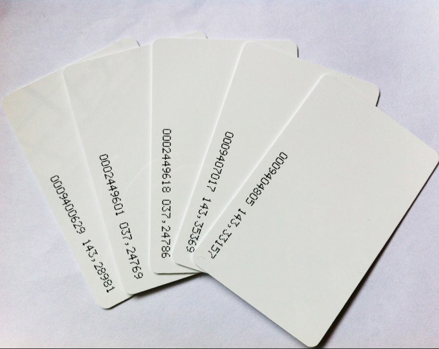 100pcs/lot 125khz Inkjet Printable PVC ID card EM4100/TK4100 for Epson printer, Canon printer 20pcs lot double direct printable pvc smart rfid ic blank white card with s50 chip for epson canon inkjet printer