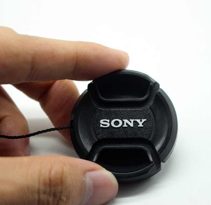 Couvercle d'objectif de caméra 40.5mm pour a5100 a6000 a5000 NEX-5T 5R 16-50 avec corde anti-perte