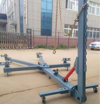Simple Portable Auto Body Repair Frame Machine Small Car Body Dent Puller Capacity 3500kg