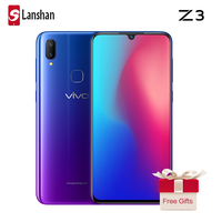 vivo Z3 Mobile Phone Snapdragon 710 Octa Core 16MP Front Camera 6G 128G Android 8.1 Face Wake Dual Camera Smartphone