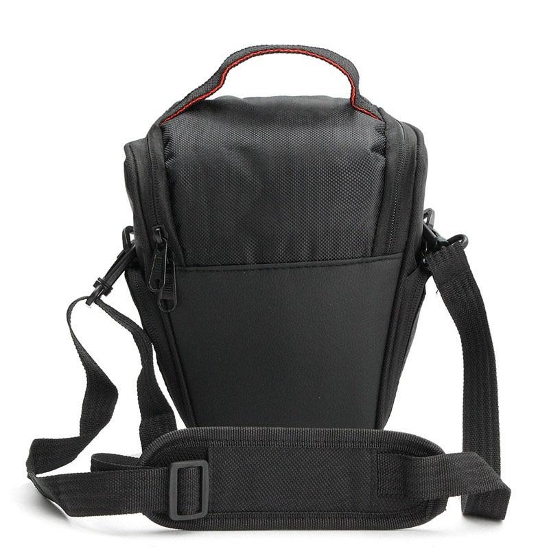 Digital Camera Black Gym Bags DSLR Camera Cover Protector Waist Case Travel Shoulder Bag Multi-functional Camera Soft Bag 20(China)