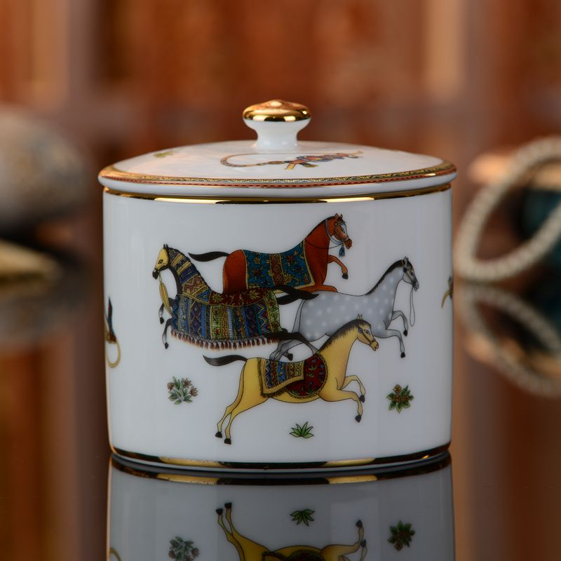 Ceramic Cotton swab box