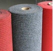 Caoutchouc nylon tapis résistant à l'usure paillasson ingénierie tapis croppings rouleau-toiture antidérapant couverture mesure