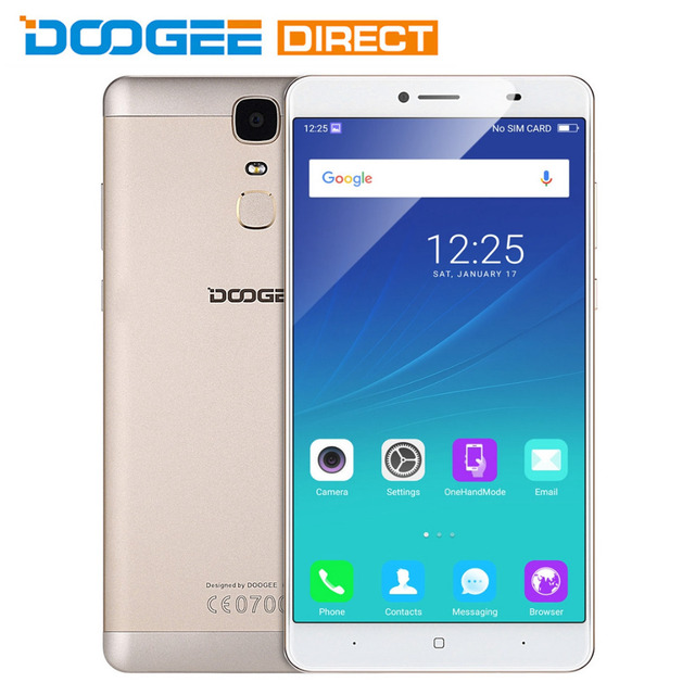 DOOGEE Y6 Max Android 6.0 6.5 inch FHD Screen MTK6750 Octa Core 1.5GHz 3GB RAM 32GB ROM 13.0MP Rear Camera GPS Accel